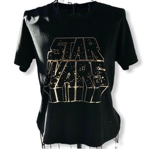 Star Wars Cropped Short-sleeve T-shirt